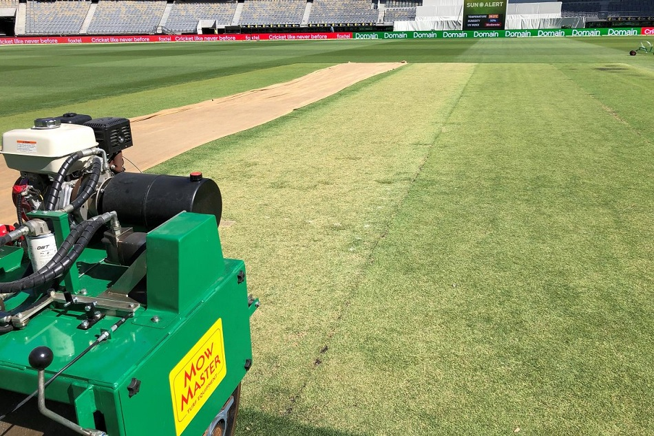 Waca Curator Brett Sipthorpe Reveals New Pitch Perth Green Bouncy India Australia