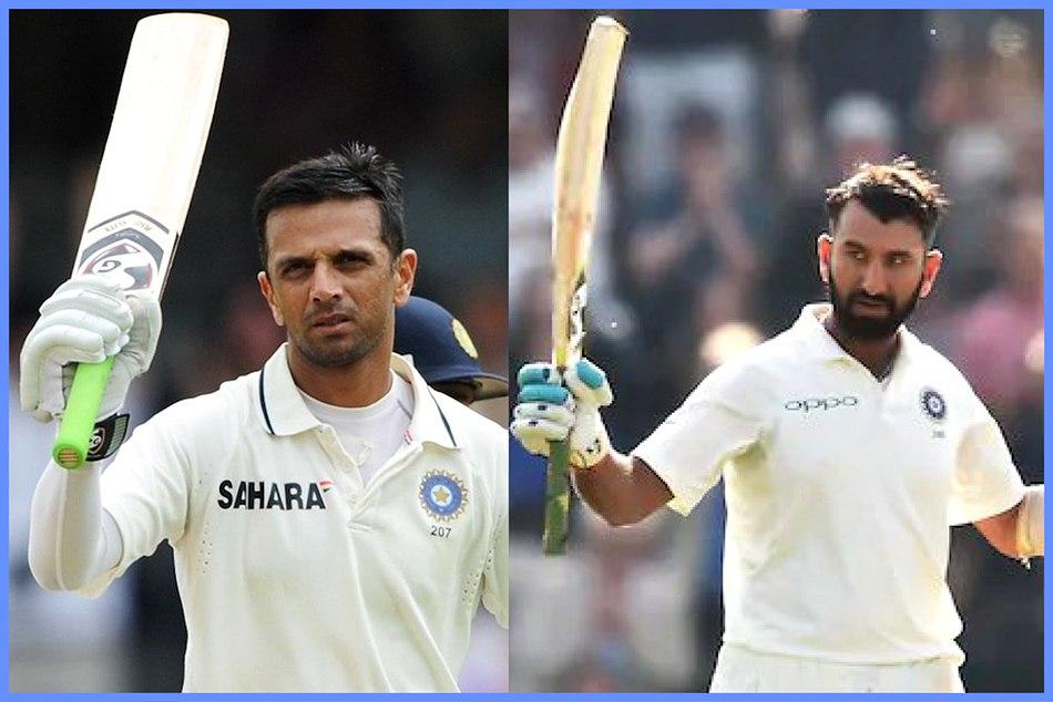 India Vs Australia Three Coincidence Cheteshwar Pujara Equal Rahul Darvid