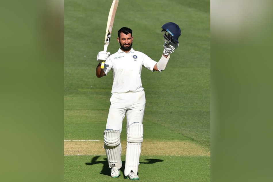 Indvsaus Cheteswar Pujara Hits 16th Ton His Test Carrier Creates Record