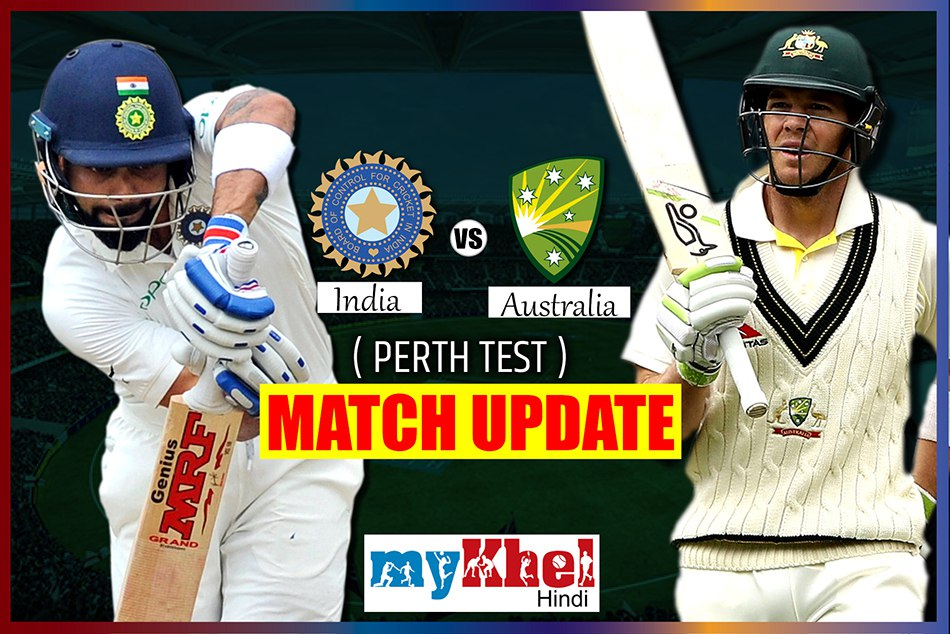 INDvsAUS: 2nd Test at Perth, Day 3 : live score updates and commentary