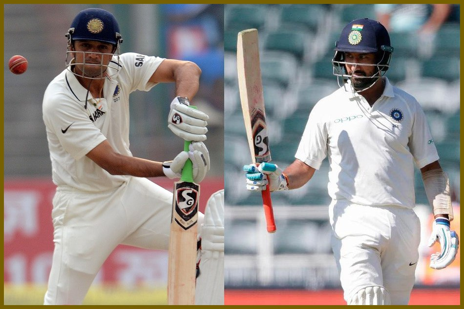 Adelaide Test Cheteshwar Pujara Has Three Coincidence With Rahul Dravid In Historic Win