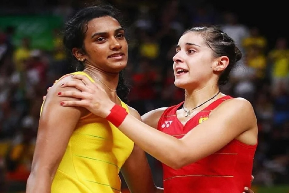 Premier Badminton League Pv Sindhu Beat Carolina Marin Opening Match