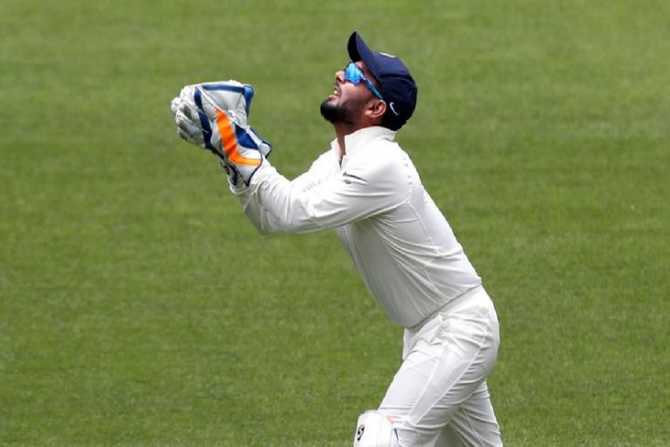 INDvsAUS: Rishabh Pant trolled after dropping catch on ground