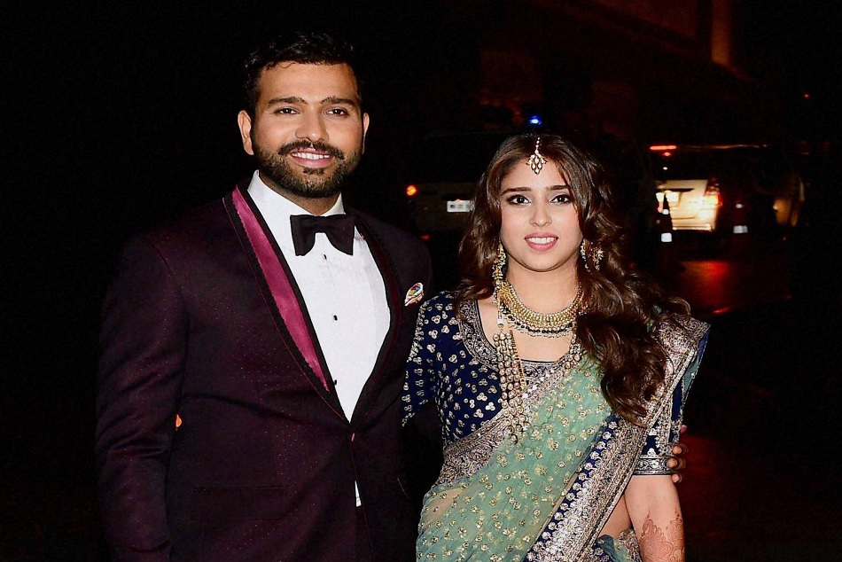 Rohit Sharma and his wife ritika sajdeh is blessed with baby girl