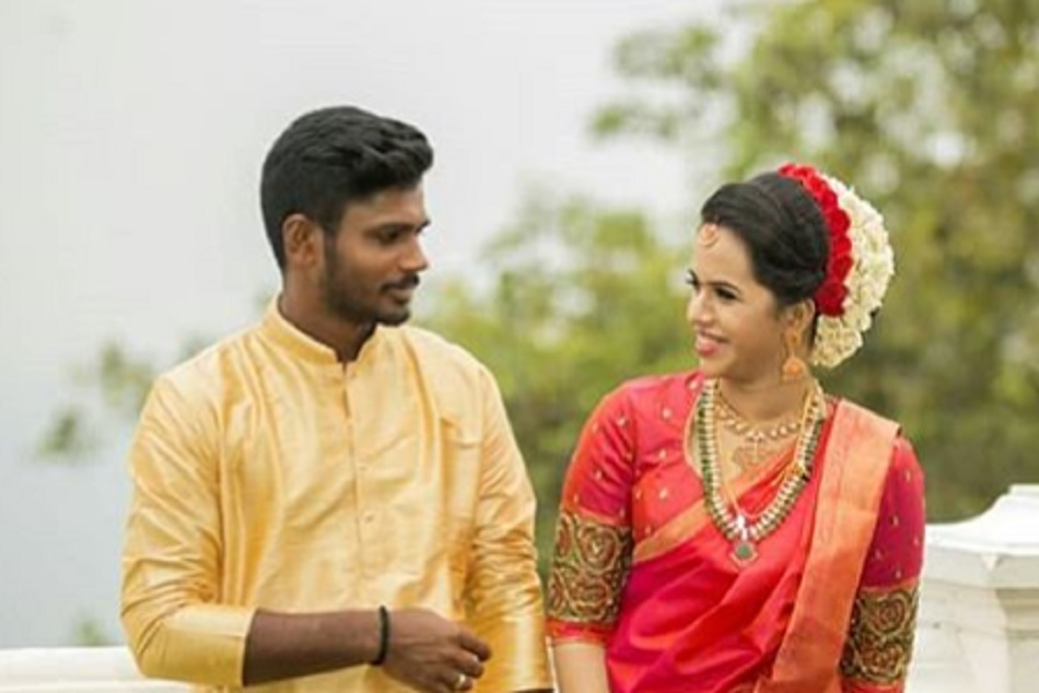 Sanju Samson ties the knot with college classmate