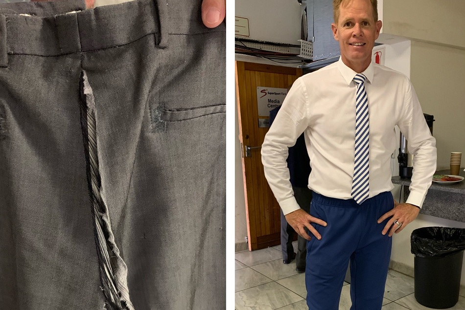 Shaun Pollock Rips Pants On Live Tv During South Africa Vs Pakistan