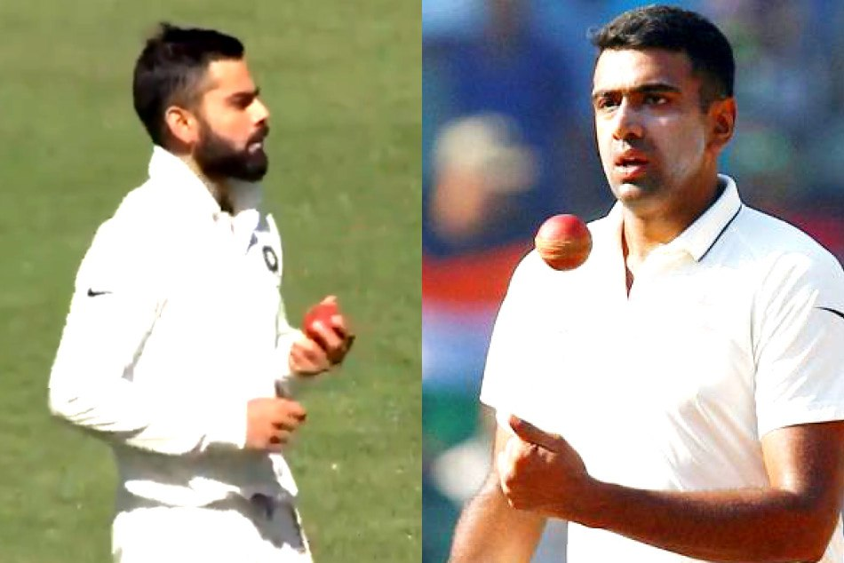 Ravichandran Ashwin reveals why virat kohli bowled against Australia eleven