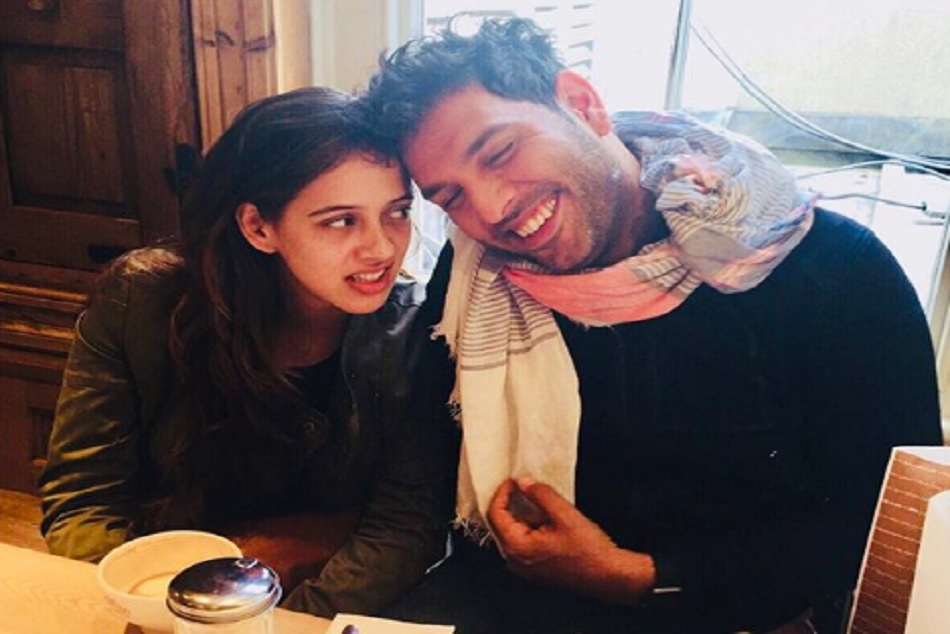 yuvraj singh and hezel keech completed two year of their marriage and wishes each other in an emotional way