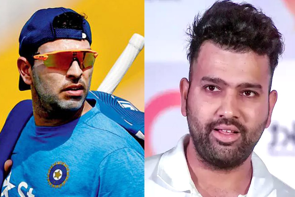 Yuvraj Singh Threaten Rohit Sharma On His Birthday Occasion