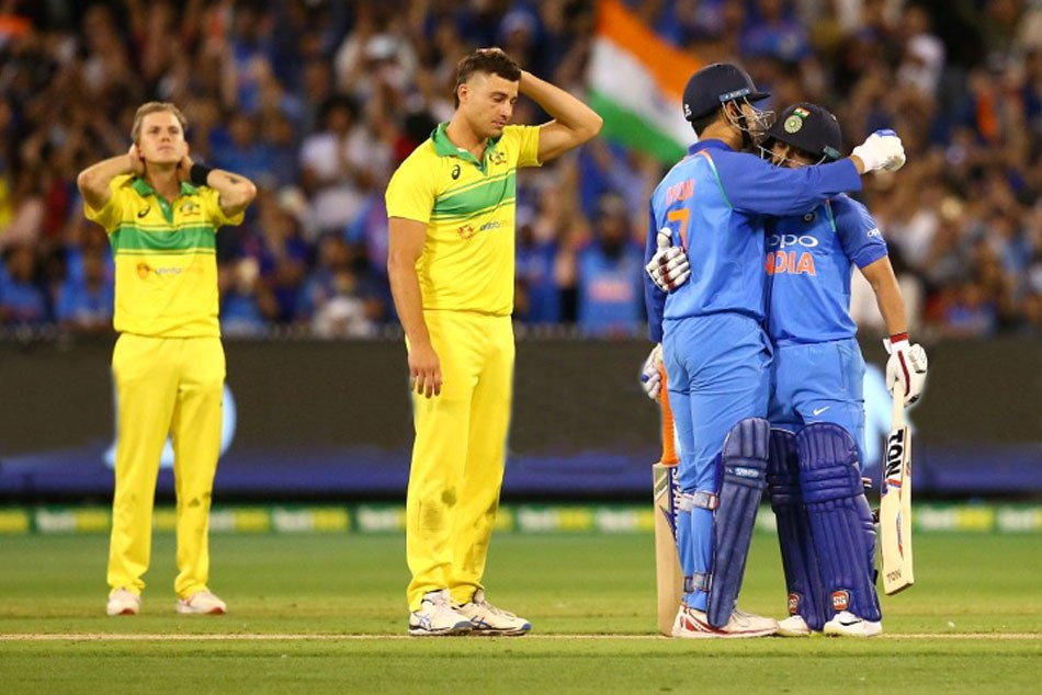 India Tour Australia Team India Scripts History Winnind Odi Series Five Big Records