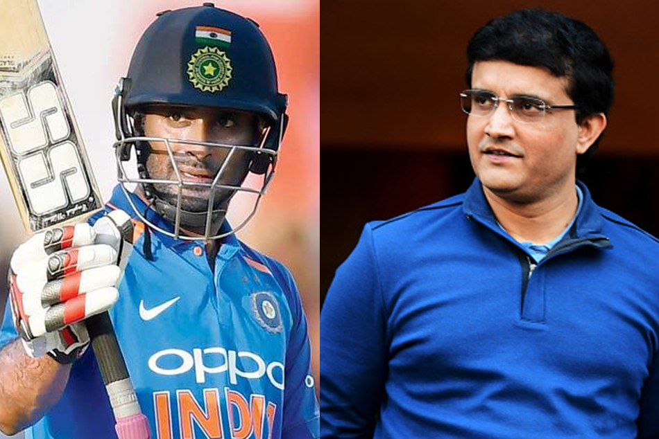 saurav ganguly concerned about the ambati rayudu batting in overseas condition