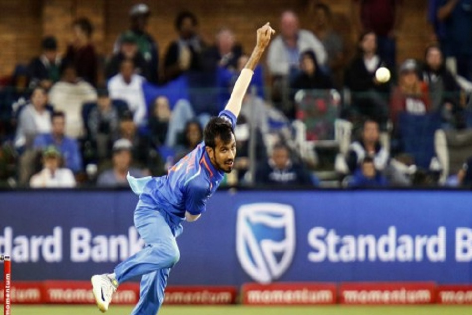 India Vs Australia Yuzvendra Chahal Hits Aussies With Six Create Record