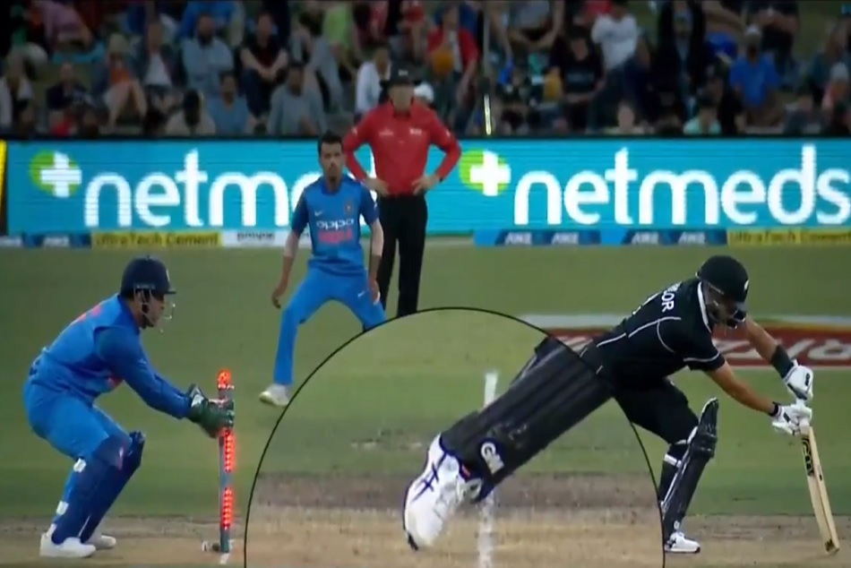 Indvsnz Ms Dhoni Stunning Stumping Video Went Viral