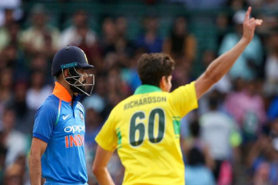 INDvsAUS: India creates Lowest score for India at the fall of third wicket