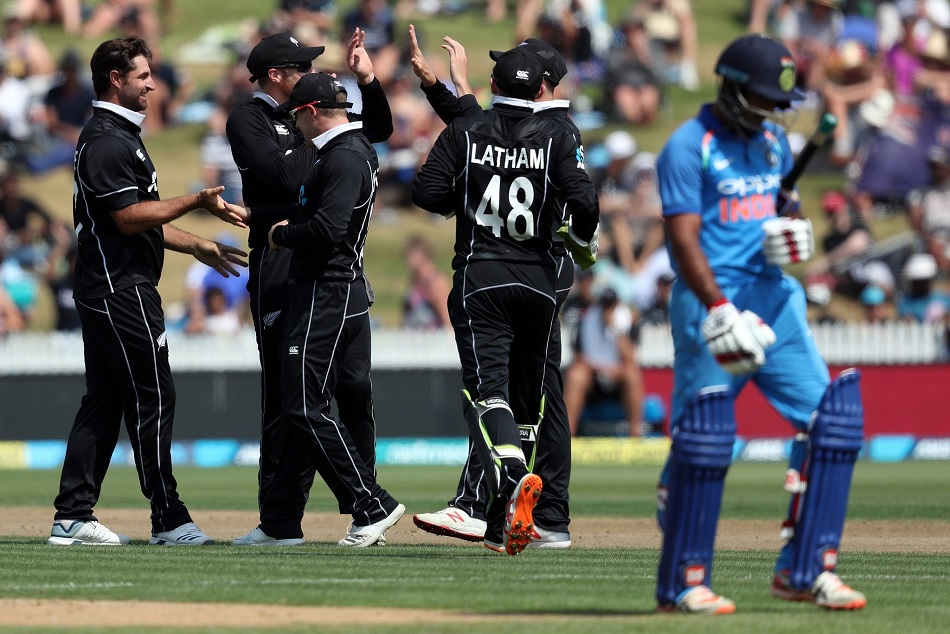 India vs New Zealand: India all out for 92 in Hamilton, its 7th lowest ODI total ever