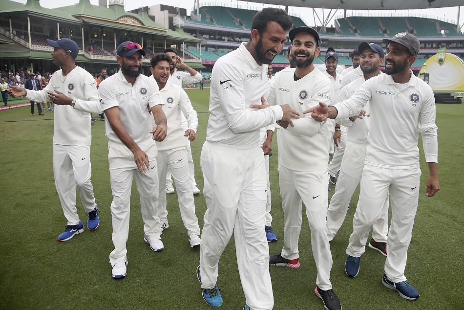 India become the first Asian cricket team to win test series in Australia