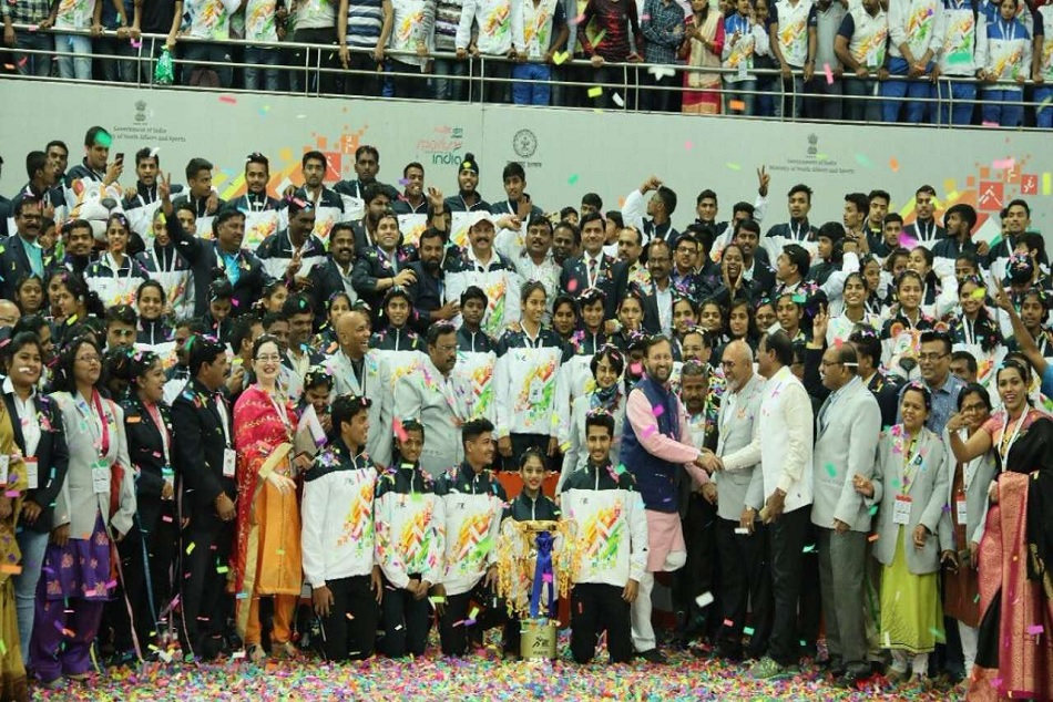 Hosts Maharashtra finish top with 85 gold in Khelo India Youth Games 2019.