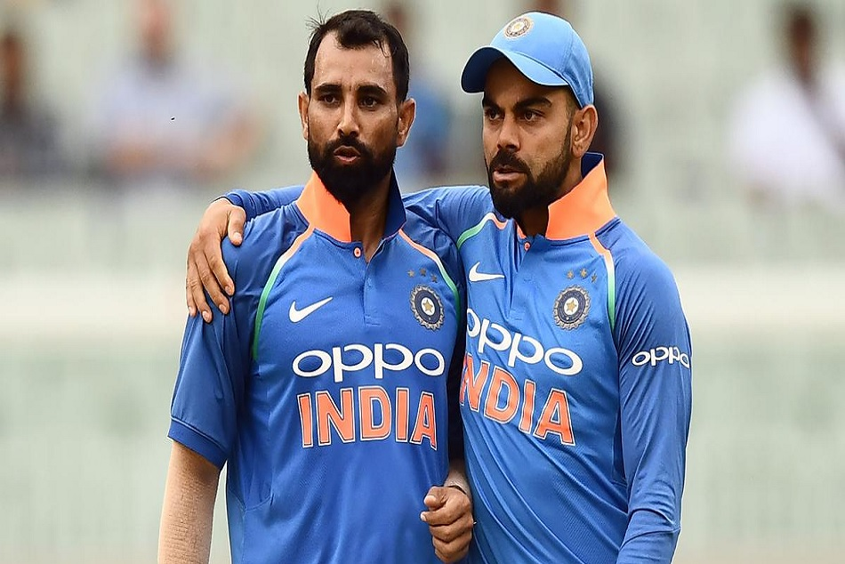 Kohli Praises Mohammad Shami Says he is at fittest of his carrier