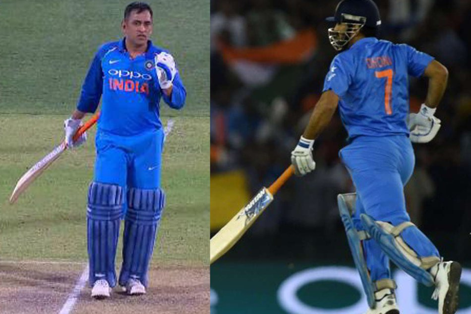 Ms Dhoni Took Short Run Adelaide Odi Which Is Missed Umpires Video