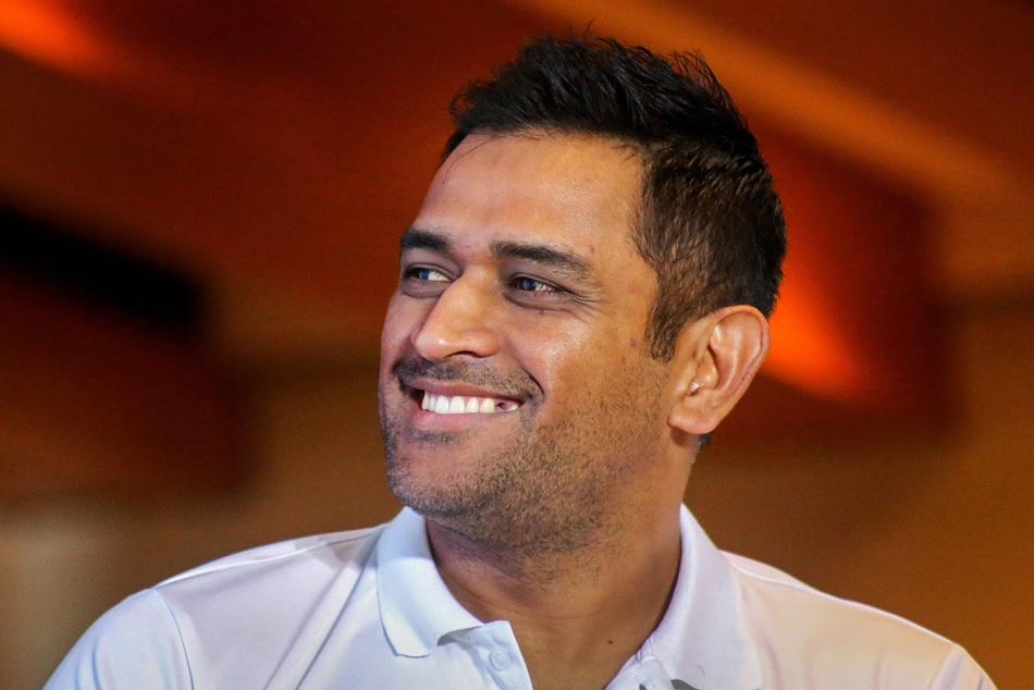 MS Dhoni scripted a unique Triple seven delight after winning man of the series award