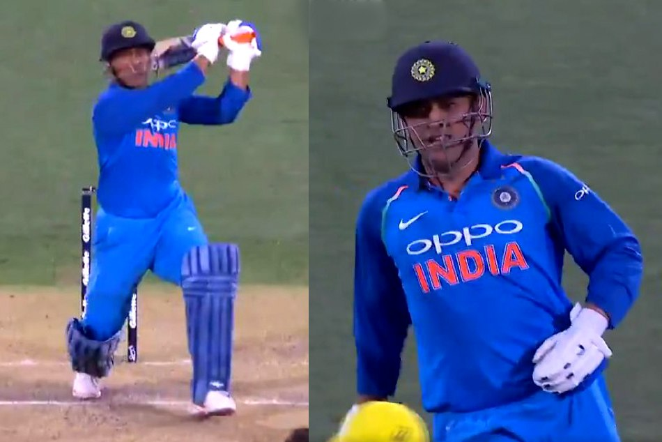 MS dhoni regain his match finishing magic, check his match winning trademark six in video