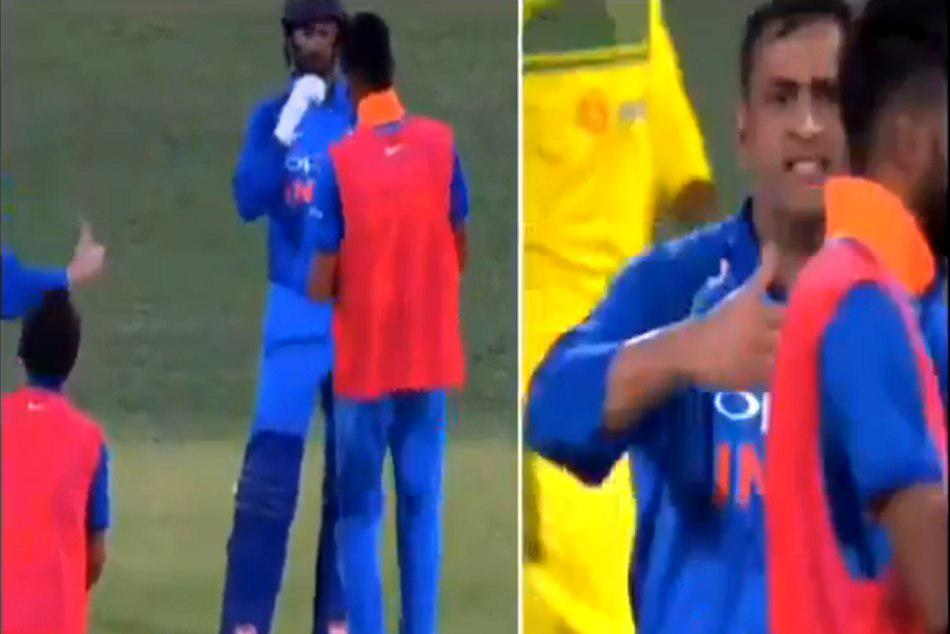 Why Ms Dhoni Lost His Cool With Khaleel Ahmed Adelaide