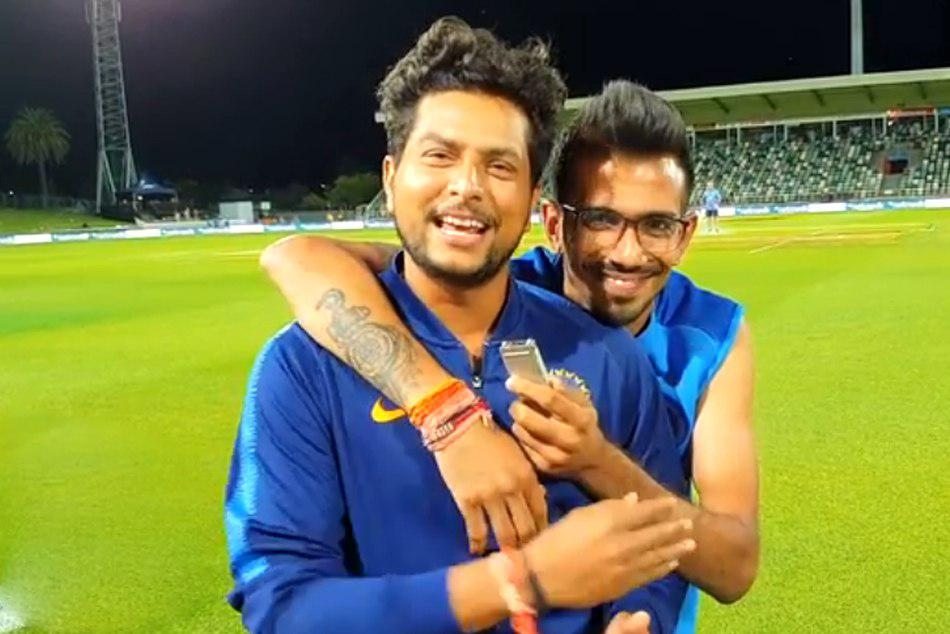 Yuzvendra Chahals Partner In Crime Kuldeep Yadav Debuts On Chahal TV