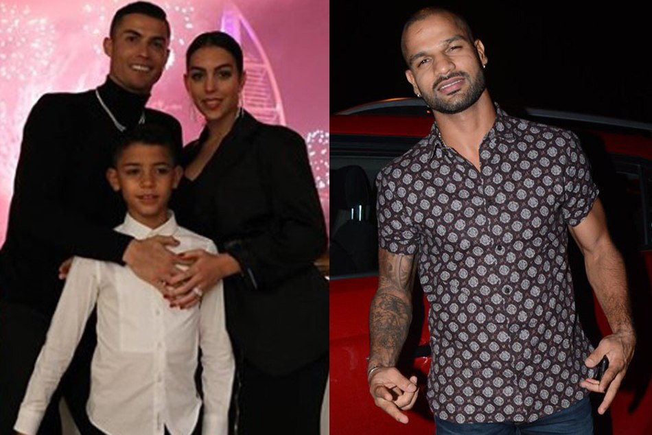 From Shikhar Dhawan Ronaldo Here How Sports Fraternity Celebrated New Year