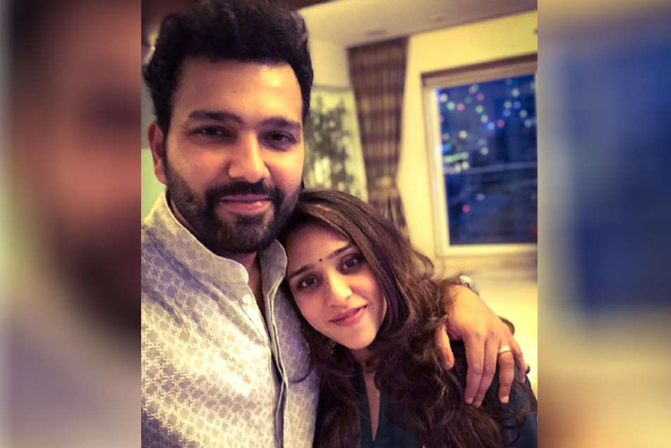 Rohit Sharma Shares First Glimpse Of Newborn Daughter