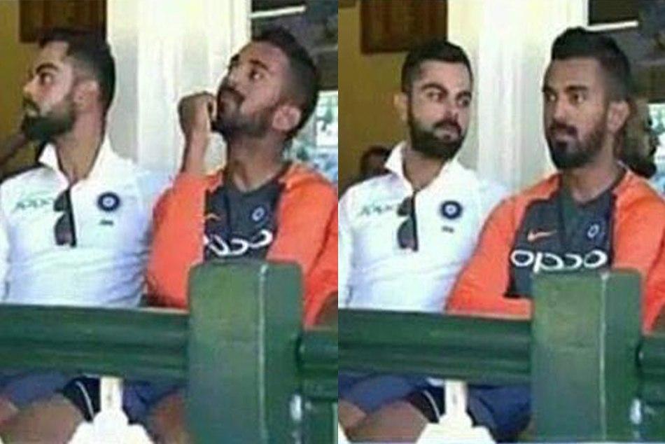 Kl Rahul Kohli S Dressing Room Picture Has Become Viral Meme