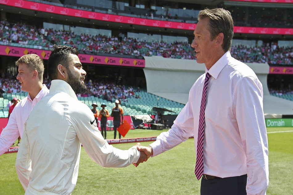Pink day test is celebrated on the third day of Sydney test