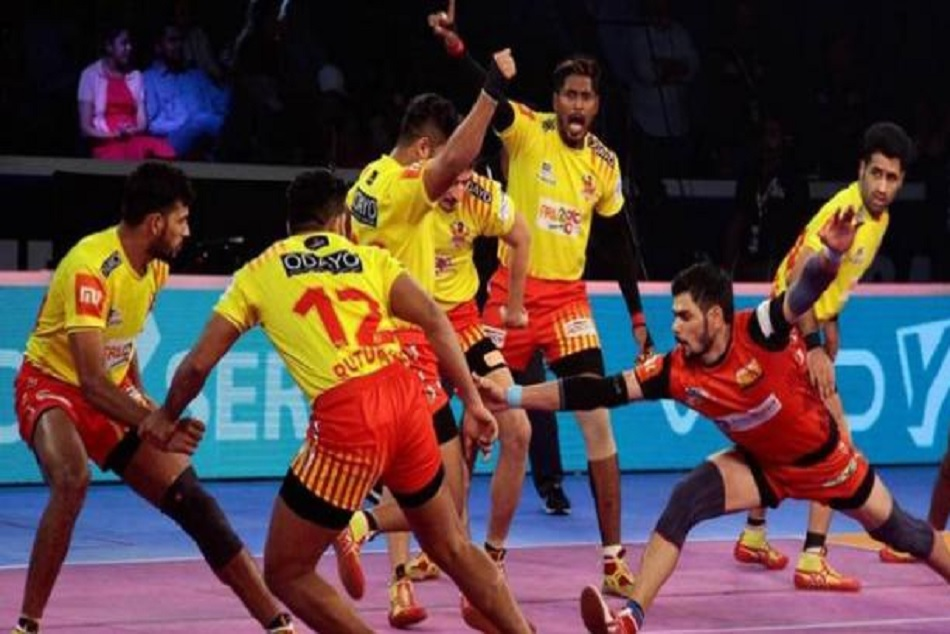 Pro Kabaddi 2018 Final Bengaluru Bulls Defeats Gujarat Fortune Gaints