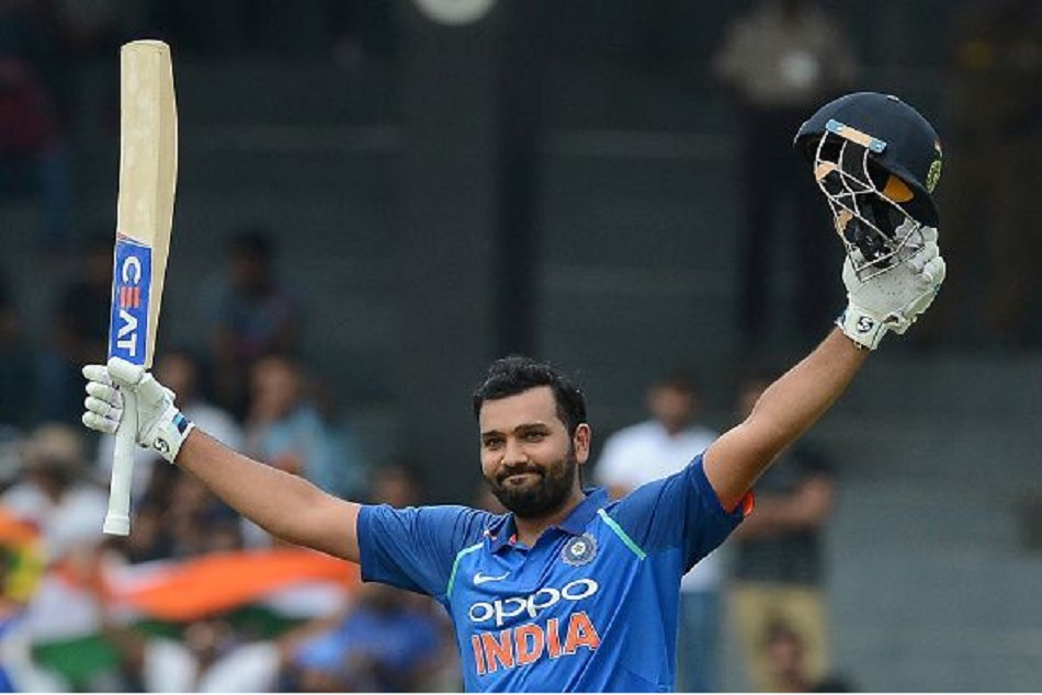 Indvsaus Rohit Sharma Leaves Back Adam Gilchrist