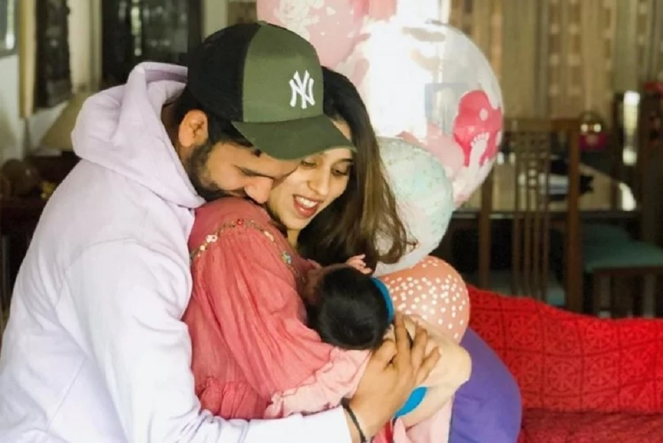 Rohit Sharma Reveals Newborn Daughters Name