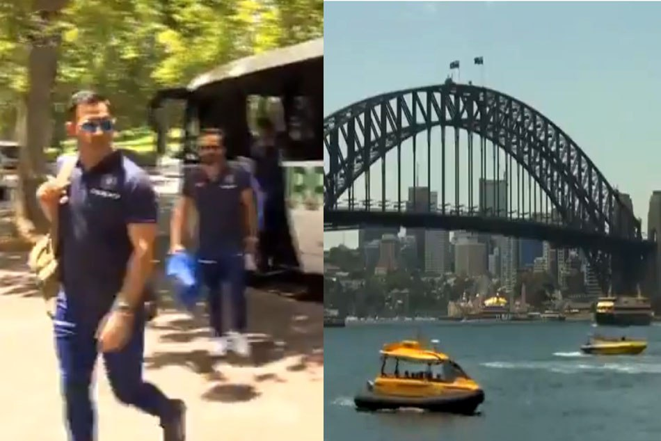 Indian Cricket Team Is Enjoying The Scenic Sydney Ahead The Three Match Odi Series