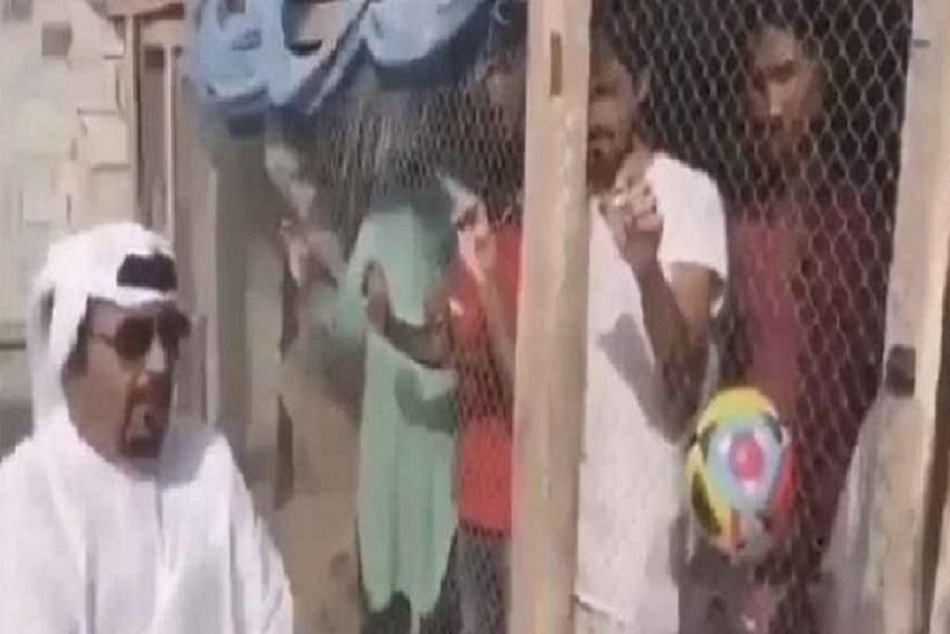 Indian Fans Seen Prisoned Uae Before India Uae Match
