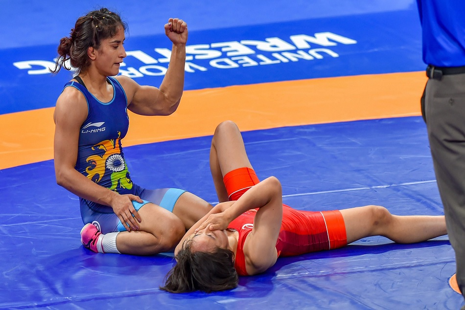 Vinesh Phogat creates history, she is the first Indian Athlete to be Nominated for Laureus World Sports Awards