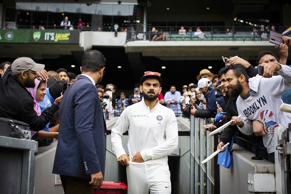 Crowed boos virat kohli then Cricket Australia Urges to show some respect to visitors