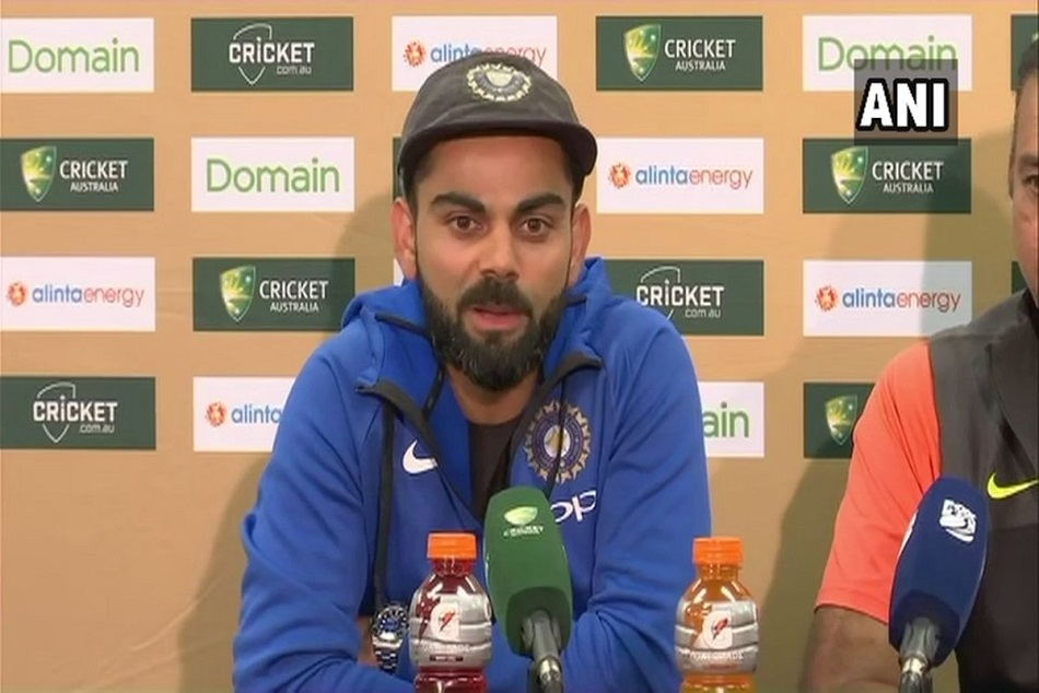 virat kohli become emotional on the historic test series win against Australia