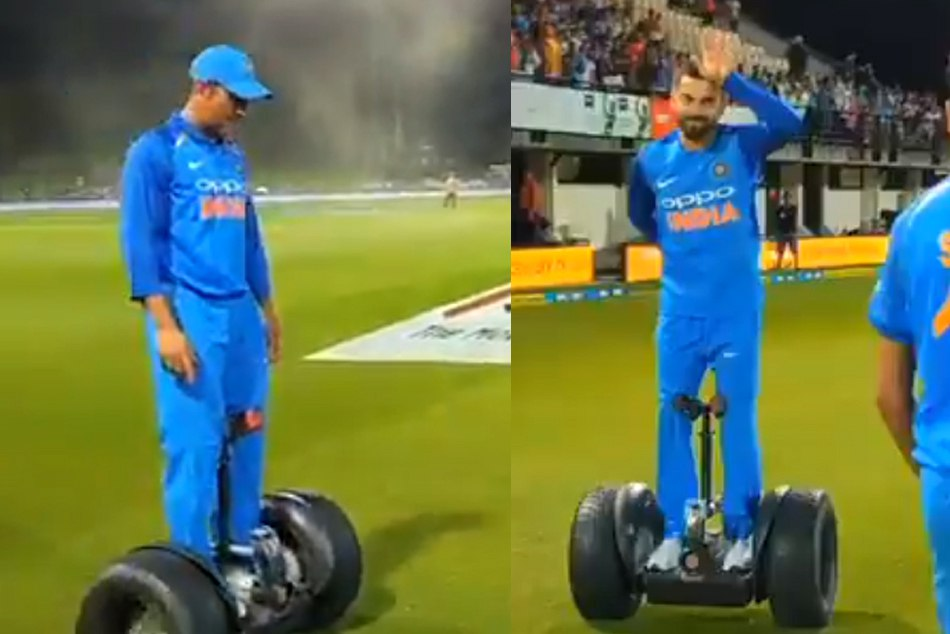 Virat Kohli And MS Dhoni are enjoying New Wheels In New Zealand, Watch the video