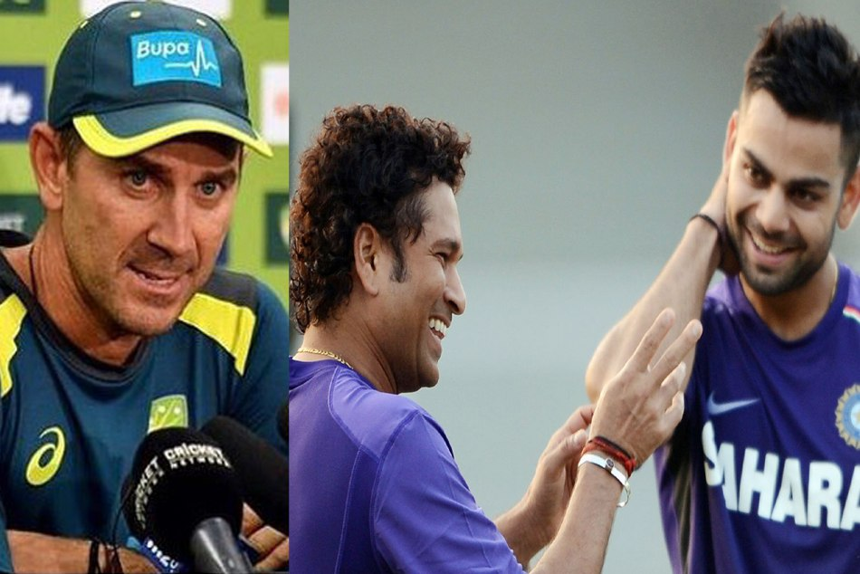 Justin Langer praised Virat Kohli, compares him with Sachin Tendulkar