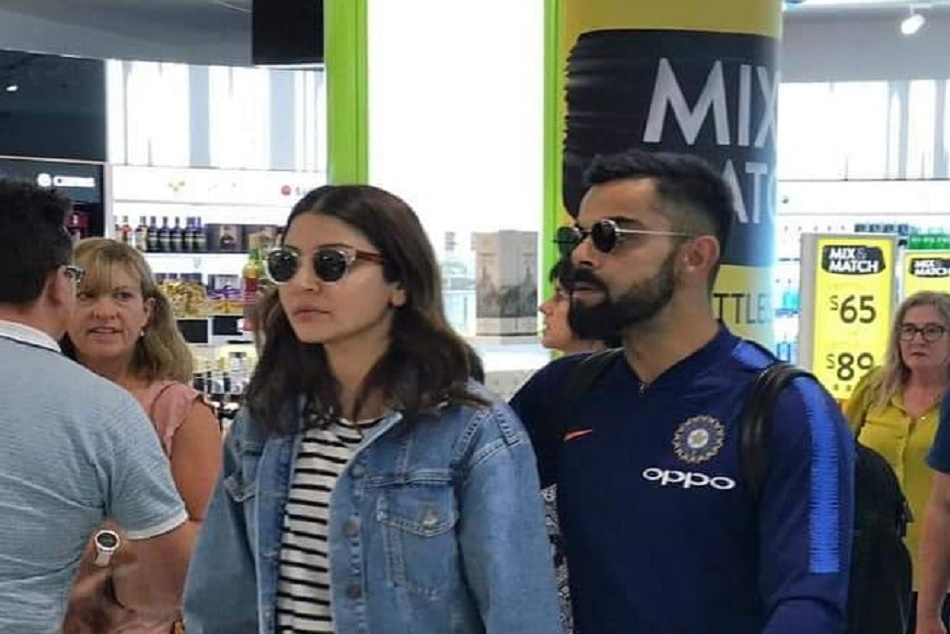 India Vs Newzealand Team India Arrive Auckland Anushka Spotted