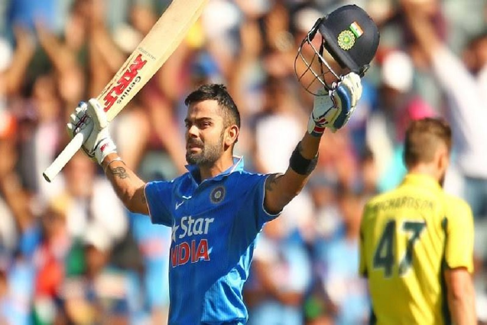 India Vs Australia Virat Kohli Hits 39th Odi Created This Record