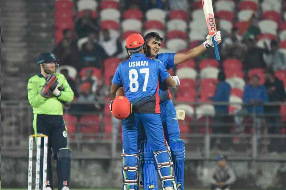 Afghanistan Record Victory Over Ireland In Second T20 Match Hazratullah Zazai Century
