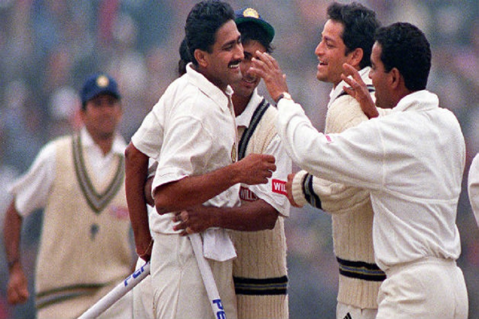 On This Day Anil Kumble Take 10 Wicket One Test Match