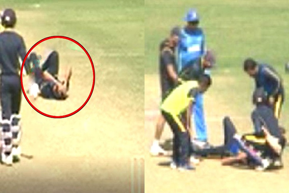 Ashok Dinda Head Injuries During Live Match