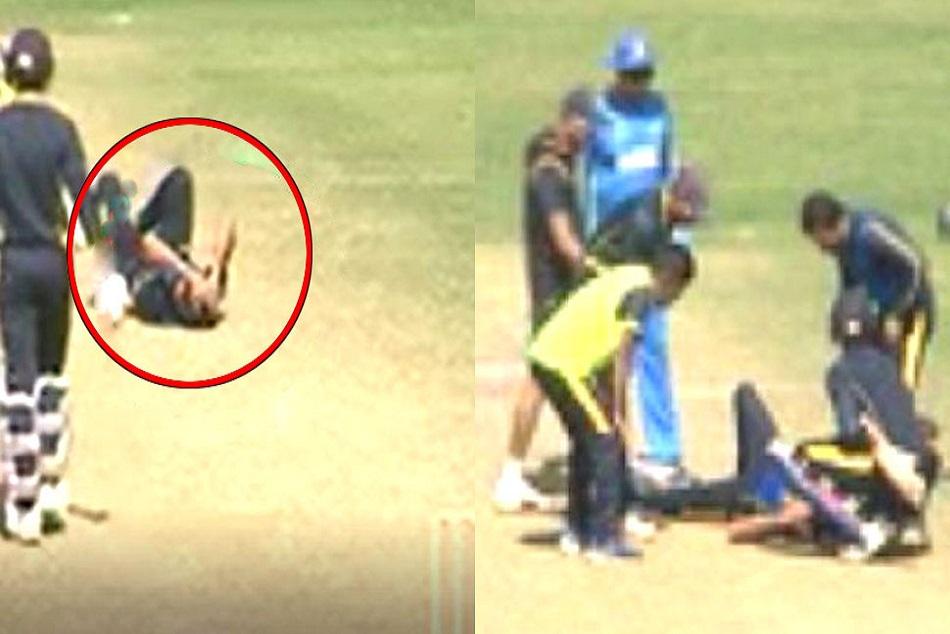 Ashok Dinda Head Injuries During Live Match