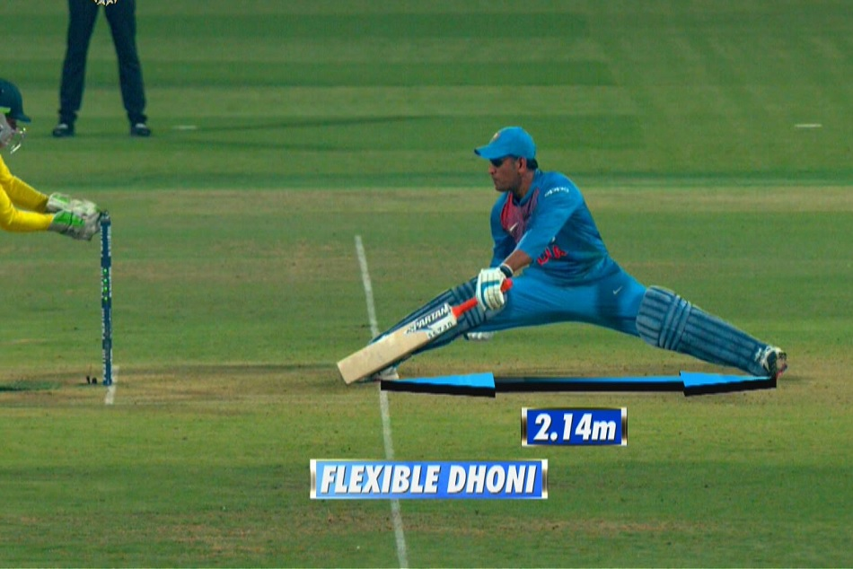 Ind Vs Aus Ms Dhoni Become First Ever Indian Hit 350 Sixes International Cricket