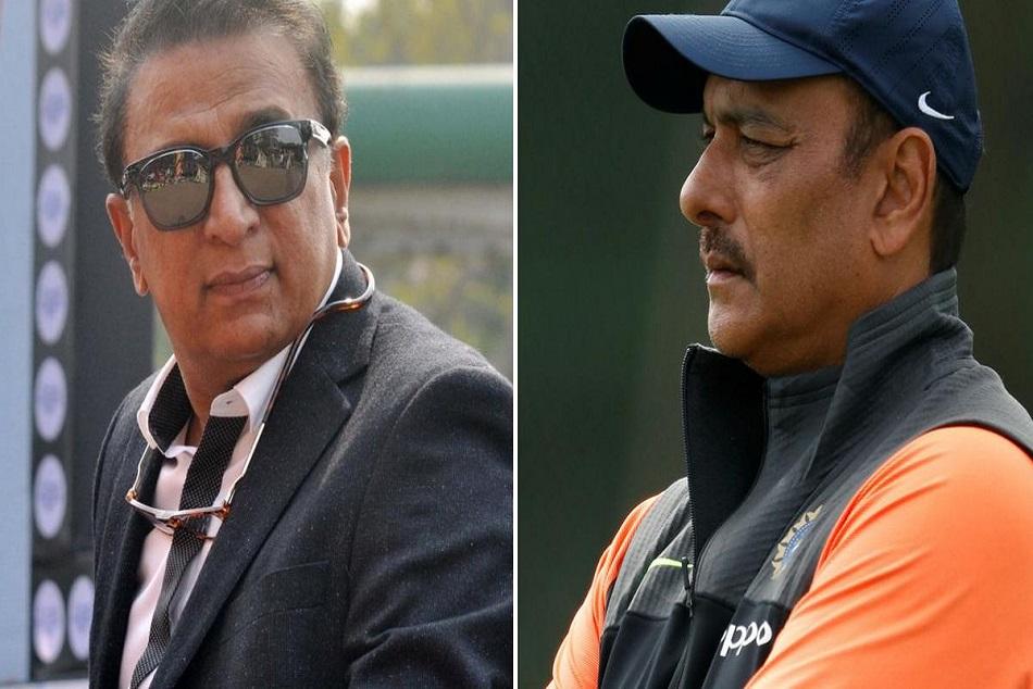 Gavaskar Told Coach Shastri Statement Wrong