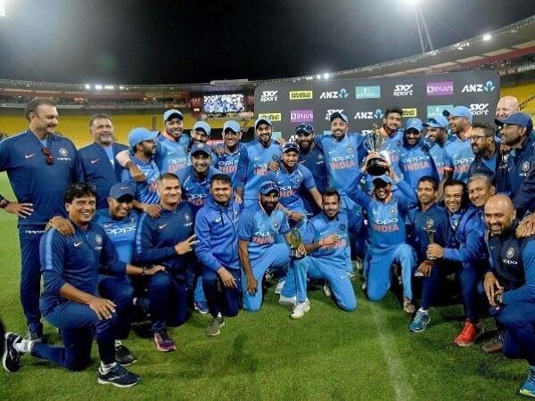 ऐतिहासिक जीत पर टीम का 'हाई जोश'